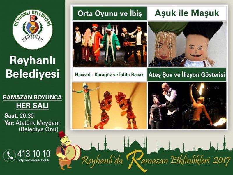 Reyhanlı Belediyesi Ramazan Etkinlikleri 2017
